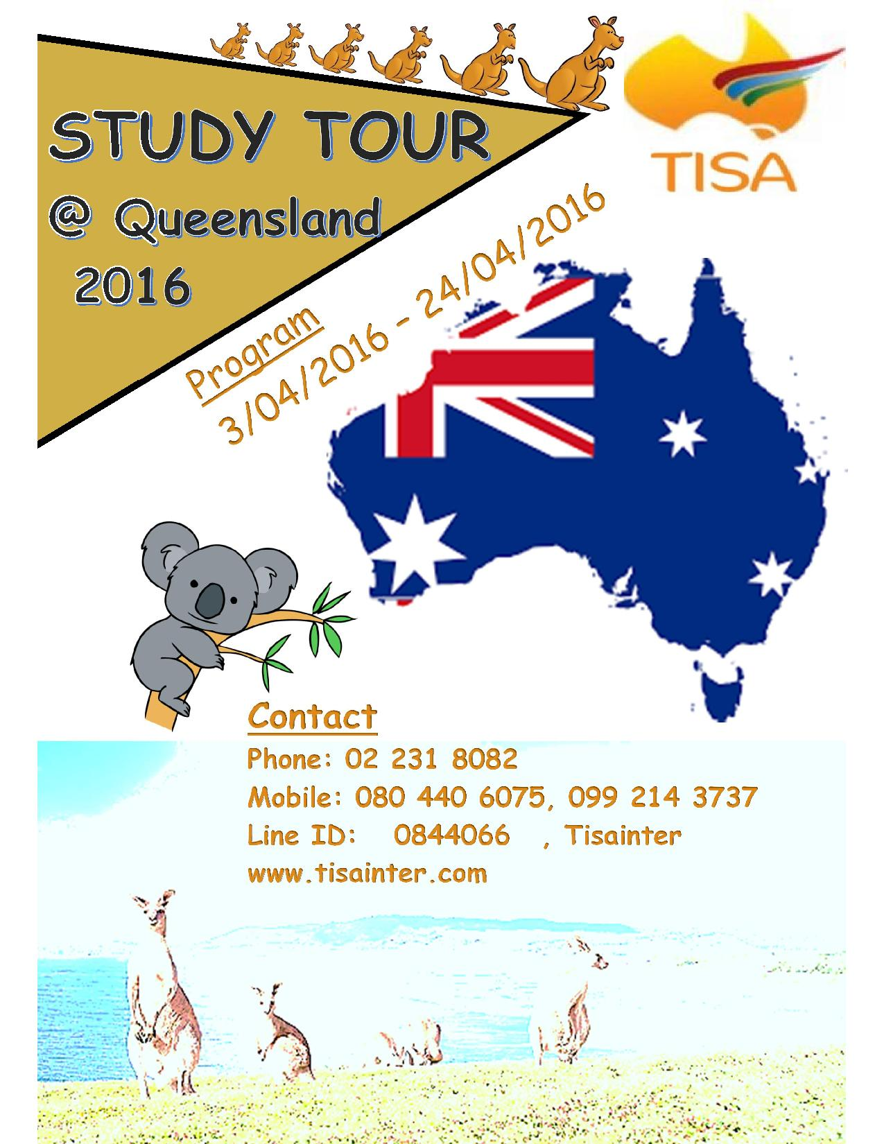 Study Tours Brisbane - Home | Facebook