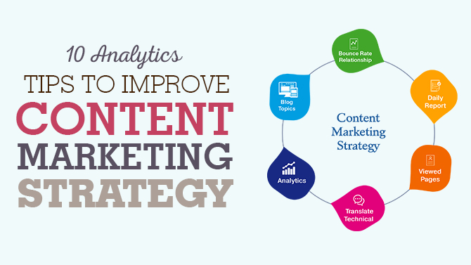 10 Analytics Tips To Improve Content Marketing Strategy