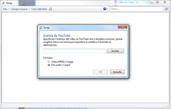 Songr-YouTube