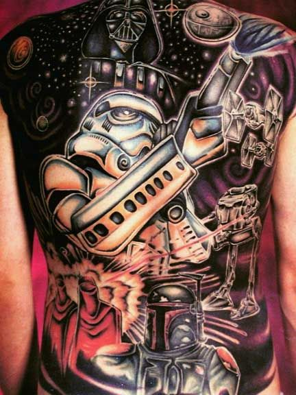 star wars tattoo 2