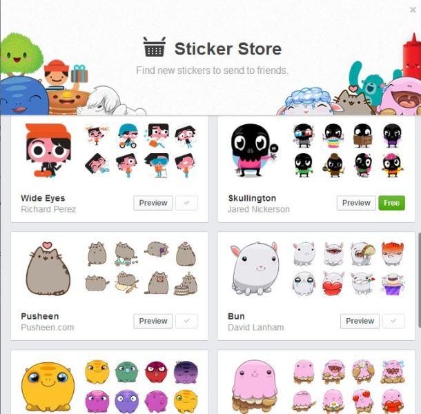 sticker store