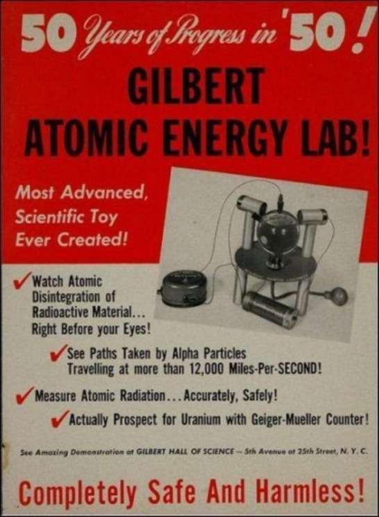 Centrale atomica per bambini (!!!)