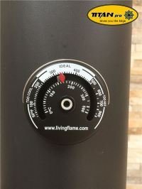Stove Pipe Thermometer - Magnetic Woodburning Stove