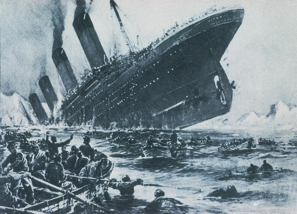 Titanic Sinking The Sinking Of The Titanic In 1912