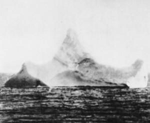 Iceberg that the Titanic hit