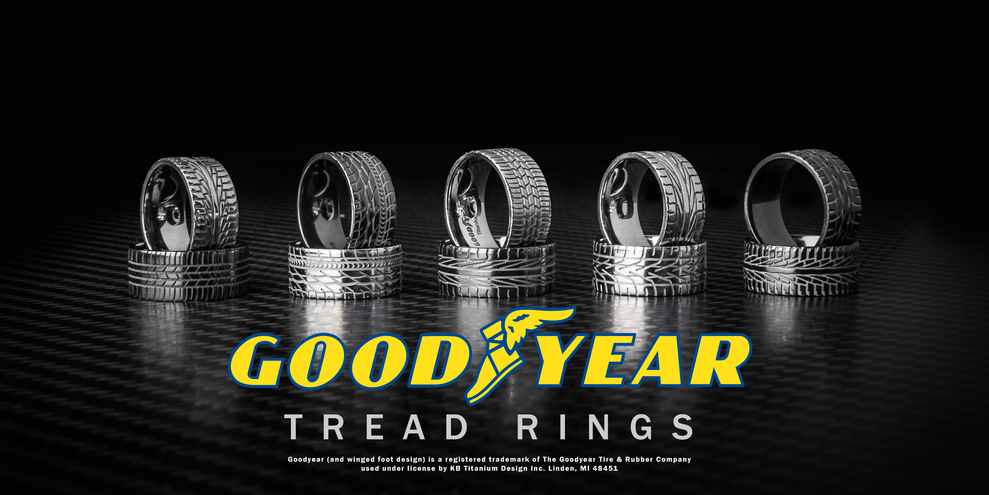 goodyear rings mud tire wedding ring Show Off Your Love of Motorsports