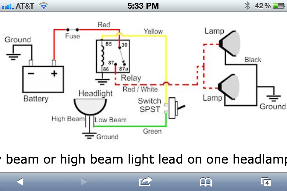 wiring diagram for dual led light bars free download