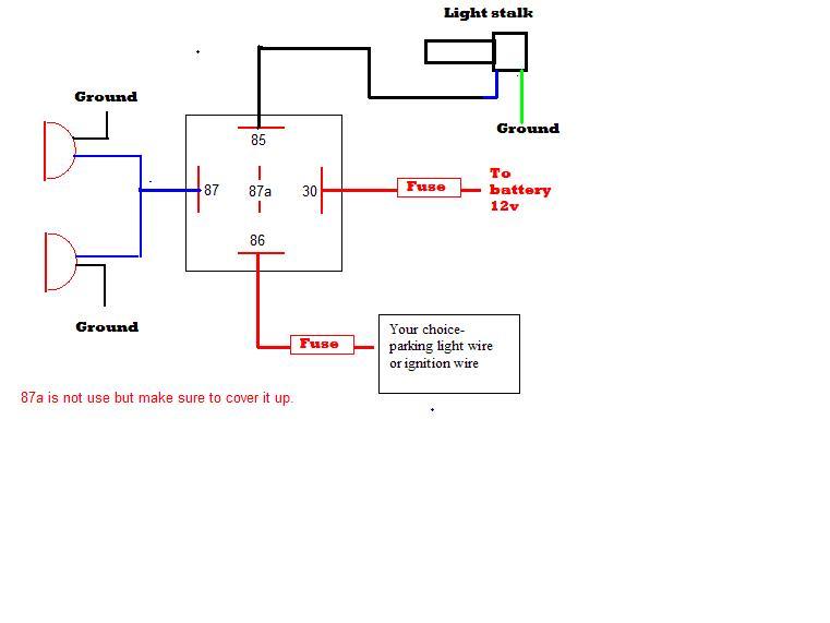 Fog Lamp Wiring Diagram Fog Diy Wiring Diagram Repair Manual