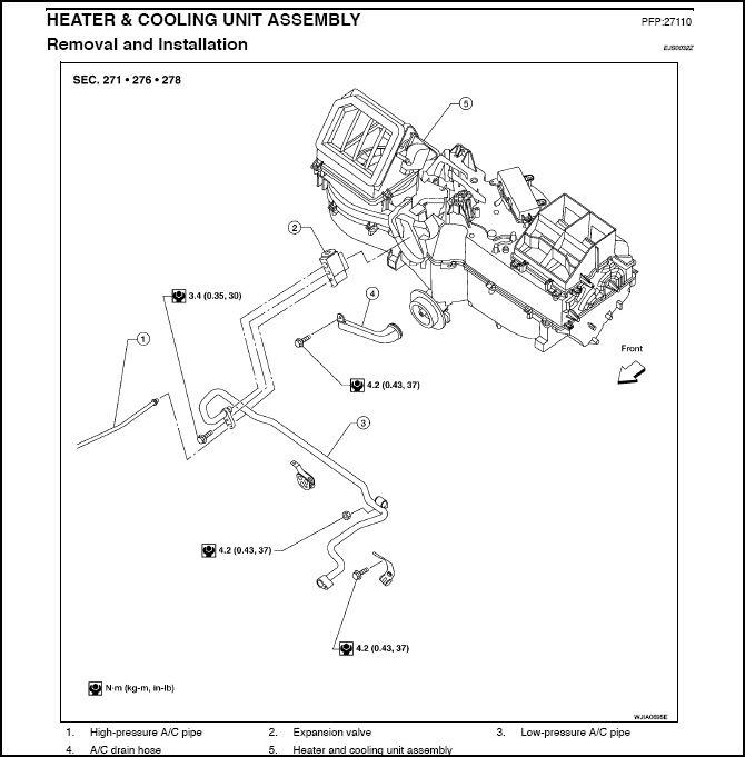 Heater valve part number and - Nissan Titan Forum