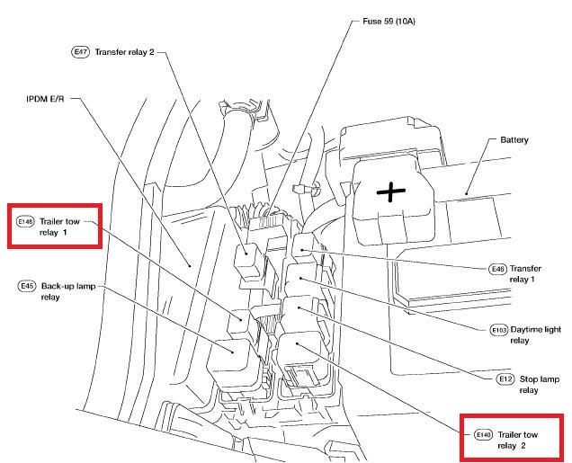 2011 Nissan An Trailer Wiring - Carbonvotemuditblog \u2022