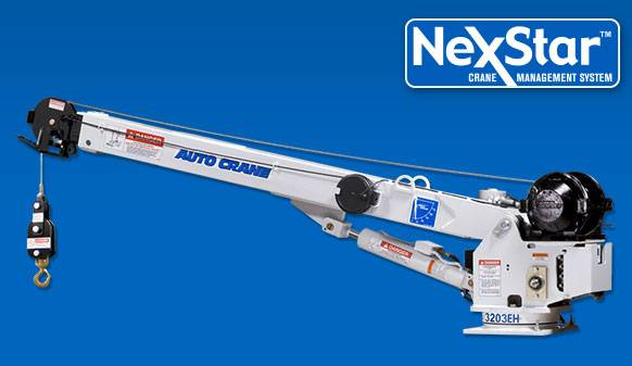 Auto Crane Auto Crane Electric Over Hydraulic Crane (3203EH Series