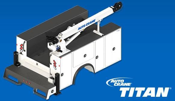 Auto Crane Auto Crane Titan Crane Body (Titan 50) (Titan 50) Titan
