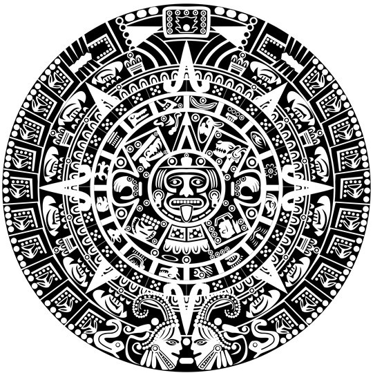 Who Created Mayan Calendar End Of The Mayan Calendar Google Free Vector Black And White Ancient Egypt Patterns 01