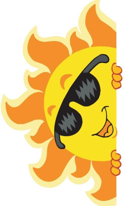 sun illustration vector