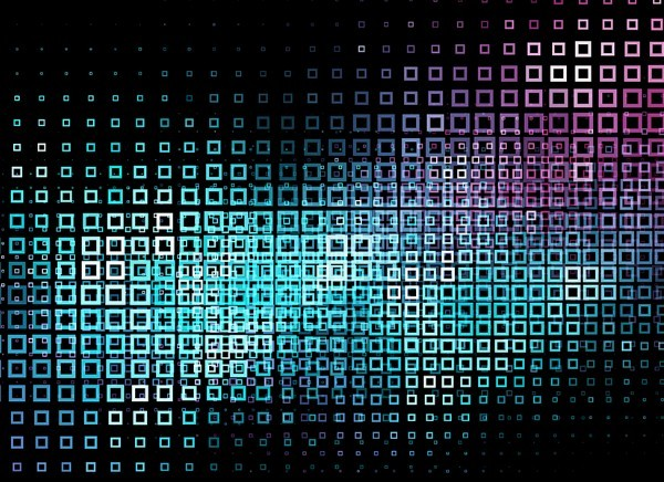 Free Download Wallpaper 3d Graphic Free Abstract Blocks With Neon Lights Background Vector