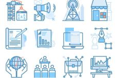 40+ SEO & Web Marketing Vector Icons