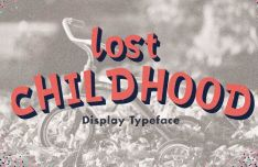 Lost Childhood Display Font