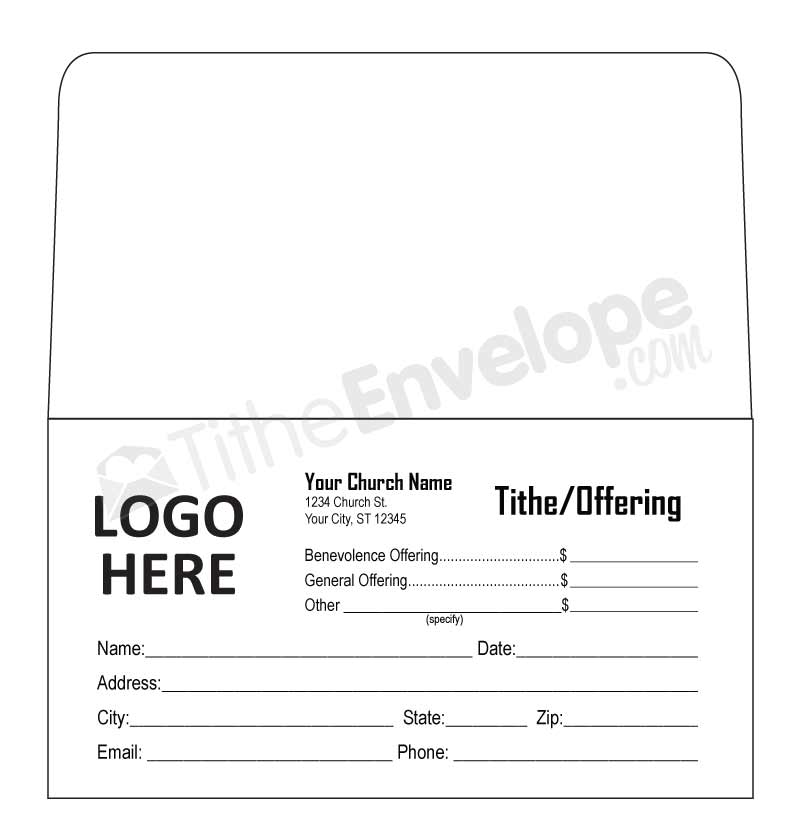 tithe envelopes template remittance envelopes template