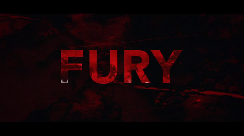 Fury Title Sequence by Greenhaus