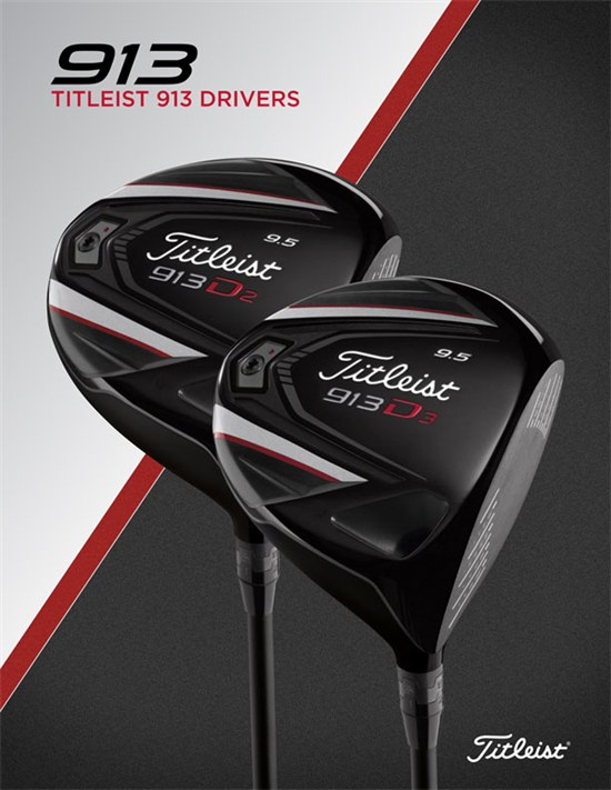 Titleist Introduces 913 Drivers with More Performance - Team Titleist