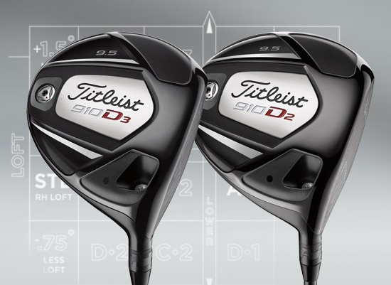 Titleist 910 Drivers, Fairway Metals and Hybrids Total Performance