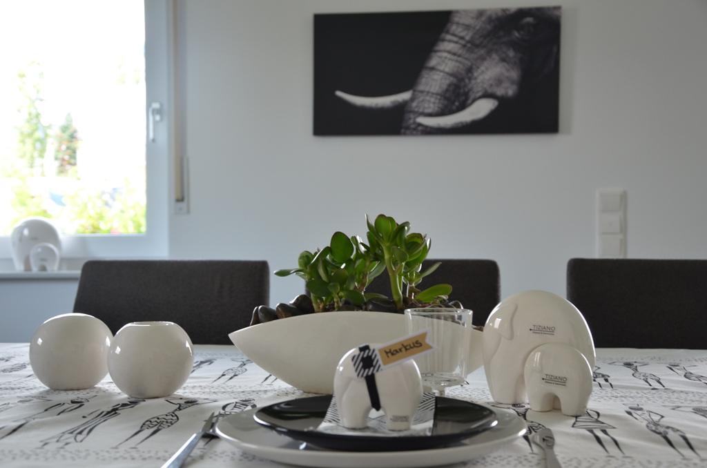 Afrika Tischdeko - Ideen für Zuhause wwwtiziano-shop - wohnzimmer design weiss