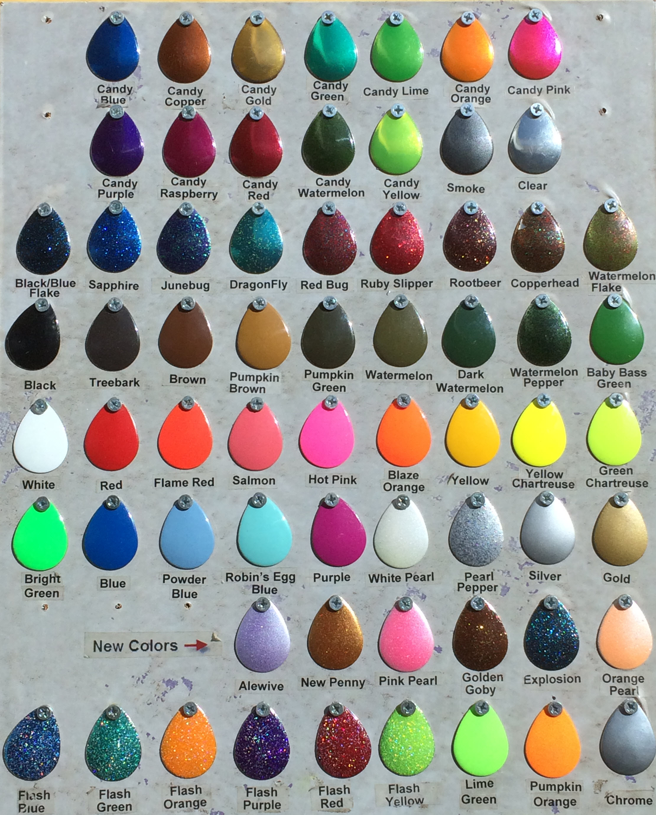 All Candy Paint Colors Image Gallery HCPR