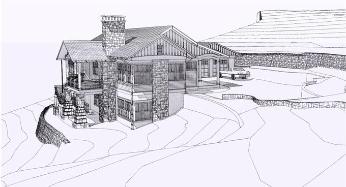 Side Rendering THOMAS LAWTON ARCHITECT