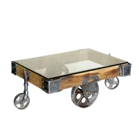 5 Best Factory Cart Coffee Tables  With wheel legs | Tool Box