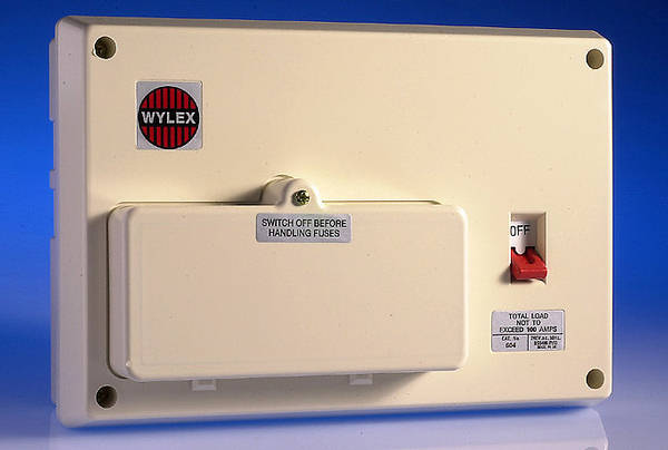 100 Old Fuse Box 6 Way Insulated Consumer Unit 100 Amp Switch