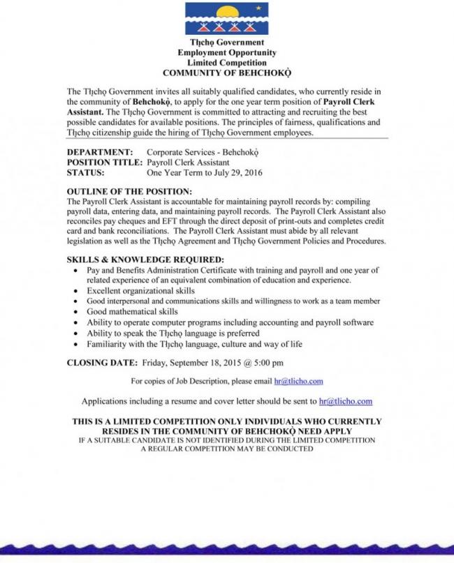 Payroll Administrator Job Description ophion