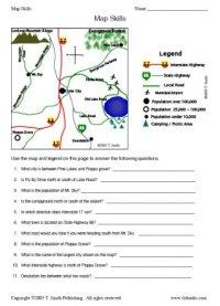 Map Skills Worksheet 2
