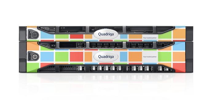 Quadriga Custom Rack Server Bezel Design Tls