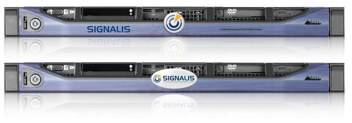 Signalis Custom Rack Server Bezel Design Tls