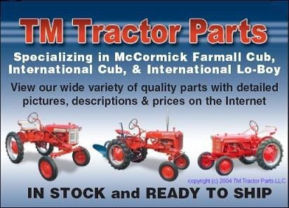 TM Tractor Parts Quality New and Replacement Parts for McCormick