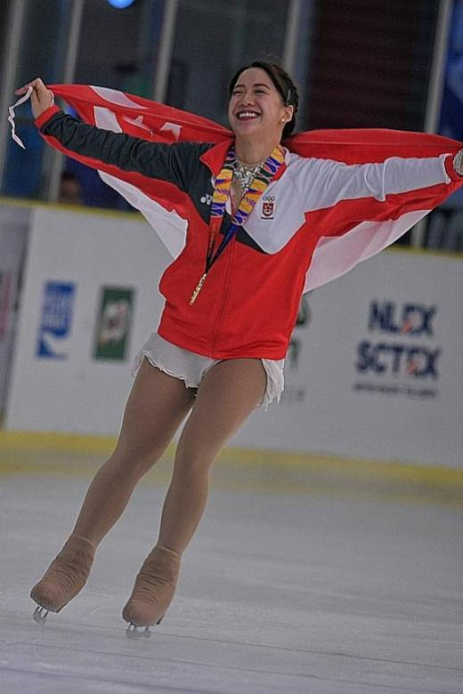 Figure Skater Chloe Ing Rallies To Clinch Gold Latest