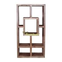 geometric bookshelf - 28 images - geometric reclaimed pine ...