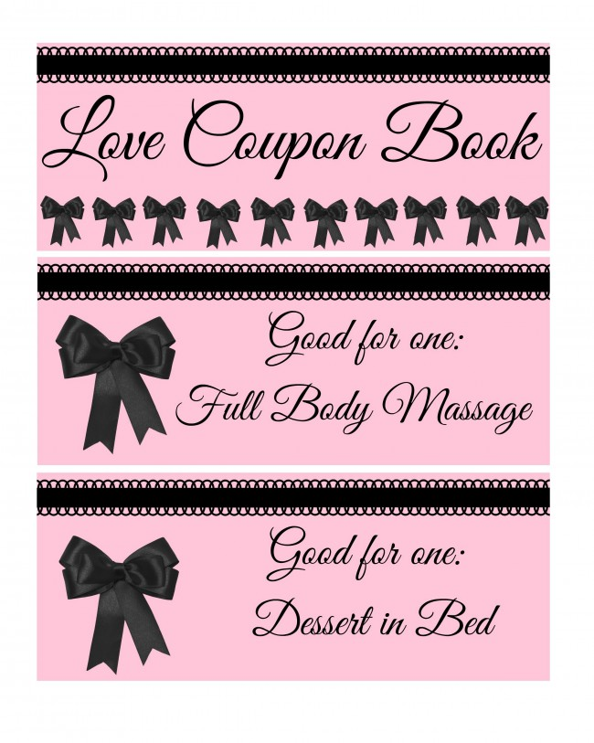 Valentines Day Love Coupon Book for adults - ToBeThode