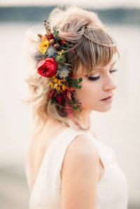 Hair Flowers   Tobey Nelson Weddings + Events