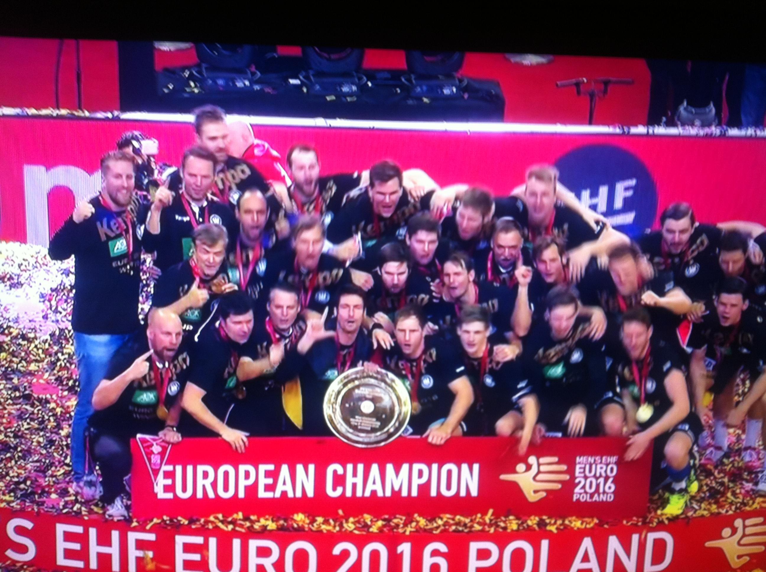 Handball Europameister 2016! Die Sensation ist perfekt!