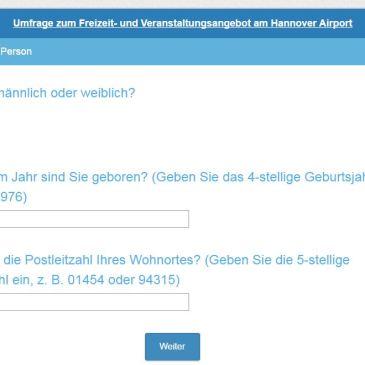 Hilfe zur Bachelorarbeit (Bitte nur aus der Region Hannover!)
