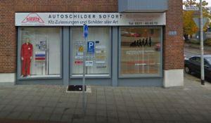 BVO Zulassungsservice A. Sievers GmbH (Foto: google.de (Ladengeschäft Ritter-Brüning-Straße 27 30449 Hannover, am Siloah)