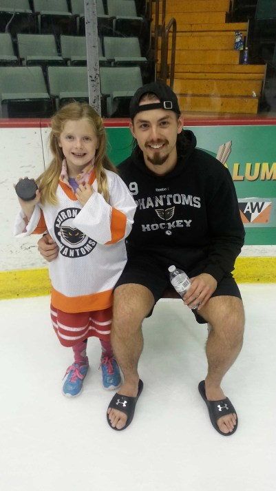 Charlotte and #9 Rob Bordson
