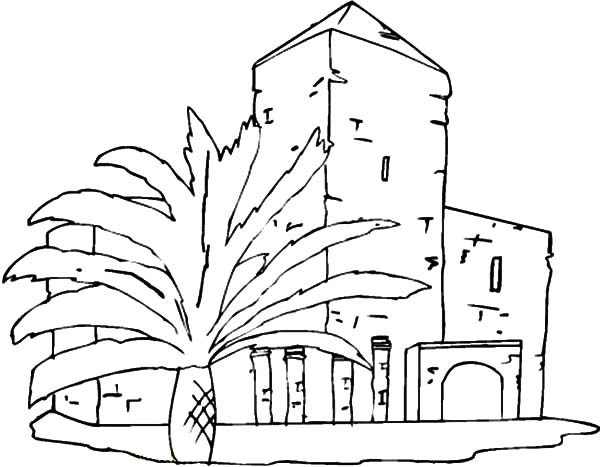 City Buildings 2 Apartment Building Coloring Pages By - Auto ...