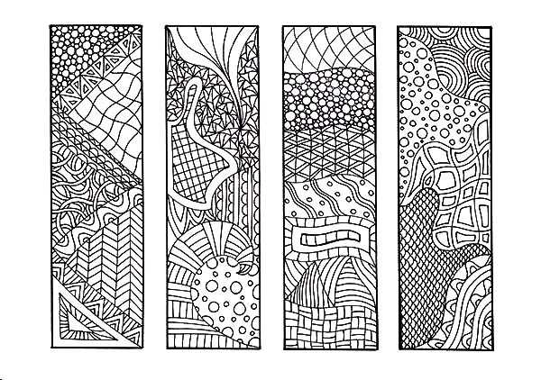 Bookmark coloring pages - bookmark coloring pages