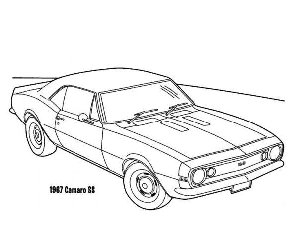 Schaltplang for 1967 camaro rs ss