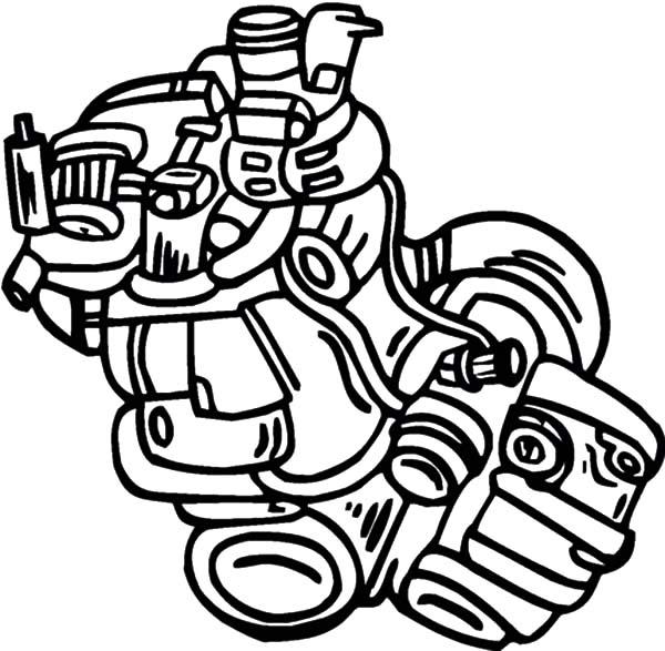 turbo engine diagram