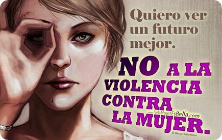 Quiero un futuro sin violencia de género
