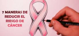 7 maneras de prevenir el cáncer