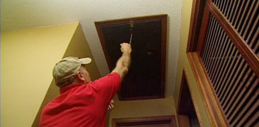 How To Insulate Attic Drop Down Access Stairs Today39s Homeowner